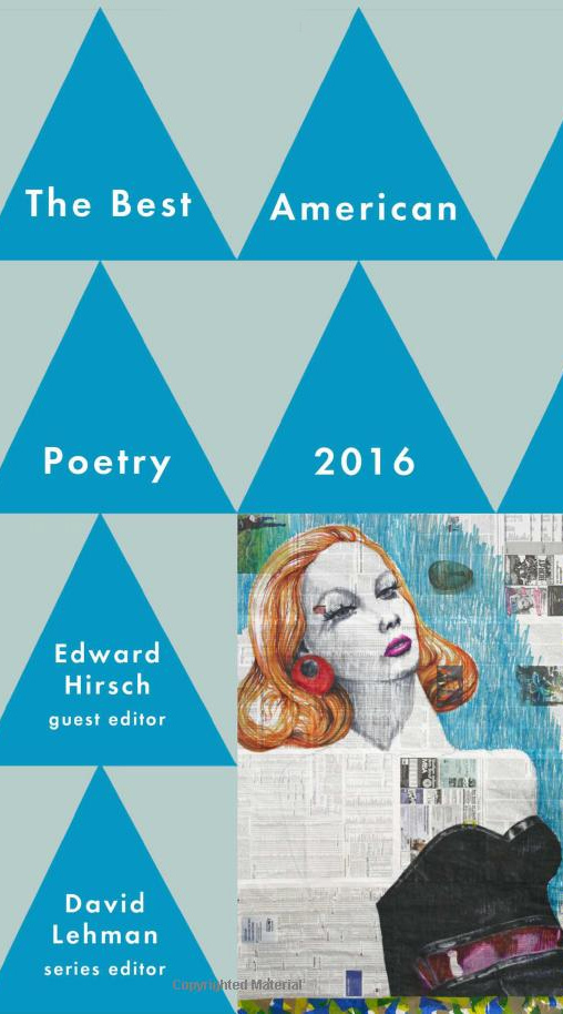 The Best American Poetry 2016